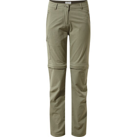 Craghoppers NosiLife Pro II Convertible Pantaloni lunghi Donna verde oliva